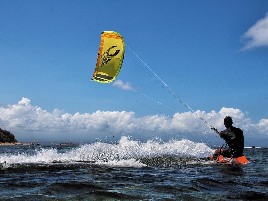 Kitesurfing na polskim morzu