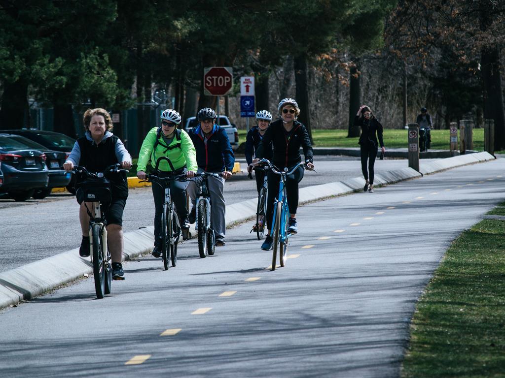 Trasa rowerowa na Półwyspie Helskim.