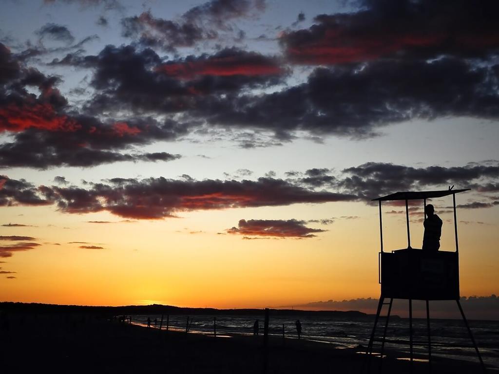 Zachód Słońca na plaży we Władysławowie